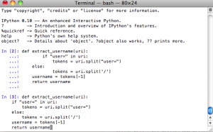 IPython with readline