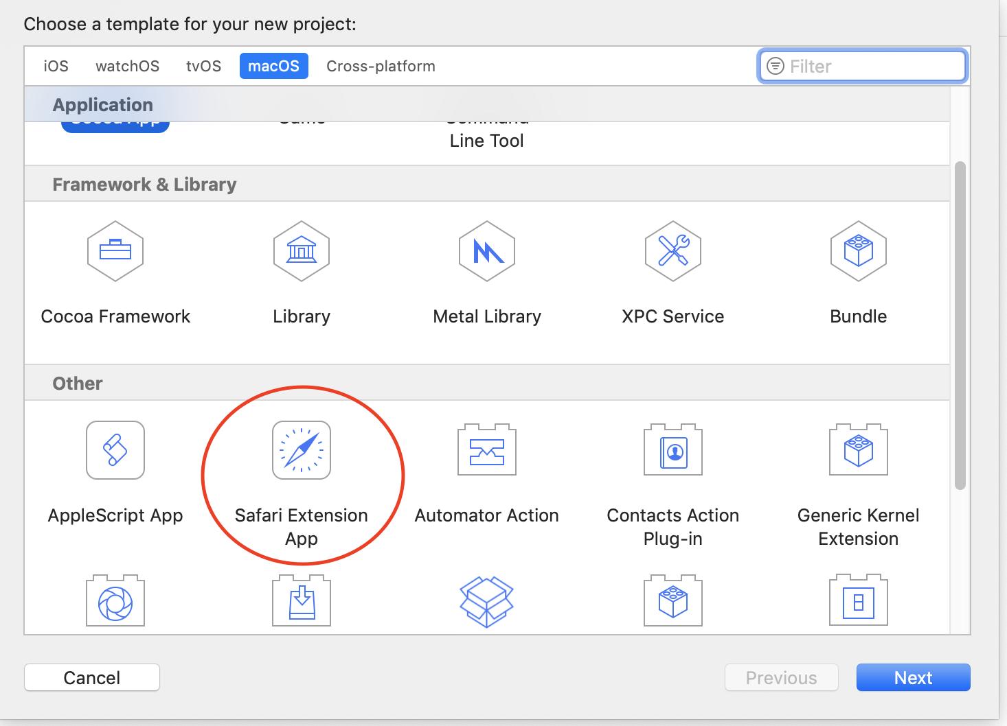 Creating Safari App Extensions and porting old Safari